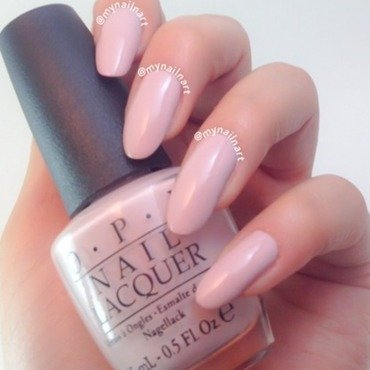 OPI Don't Bossa Nova Me Around Swatch by mynailnart