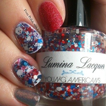 Memorial day nail art thumb370f