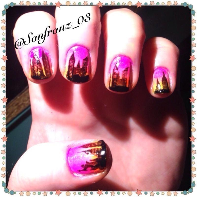 New York City nails! nail art by Sandy - Nailpolis: Museum of Nail Art