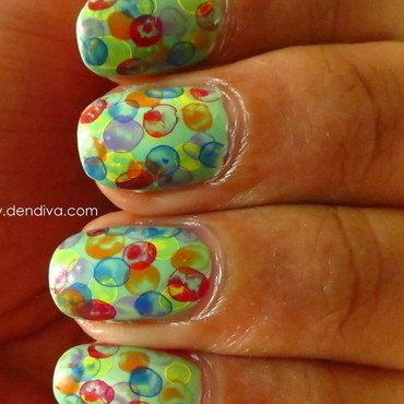 Nimbus Nail arts nail art by Madhu DenDiva