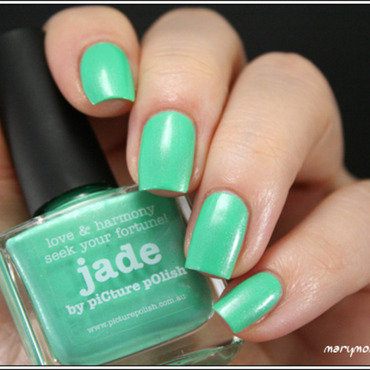 piCture pOlish Jade Swatch by Mary Monkett