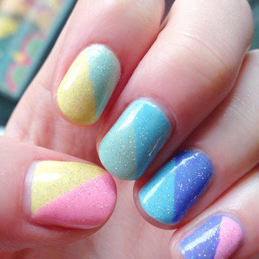 Rainbow color blocking thumb370f