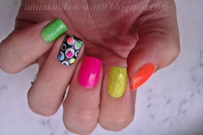 Candy nails :)  nail art by Anita