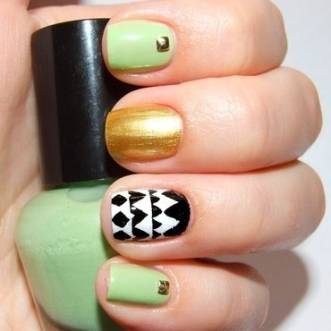 Inspired by Emily Denise nail art by Paulina Domoradzka