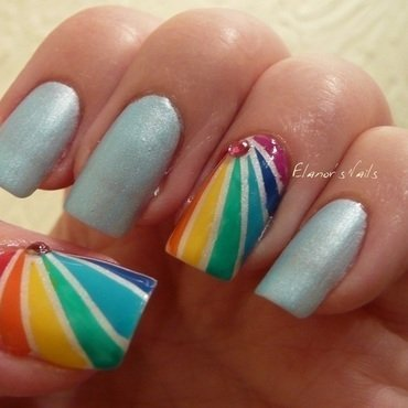 Rainbow tape mani 5 thumb370f