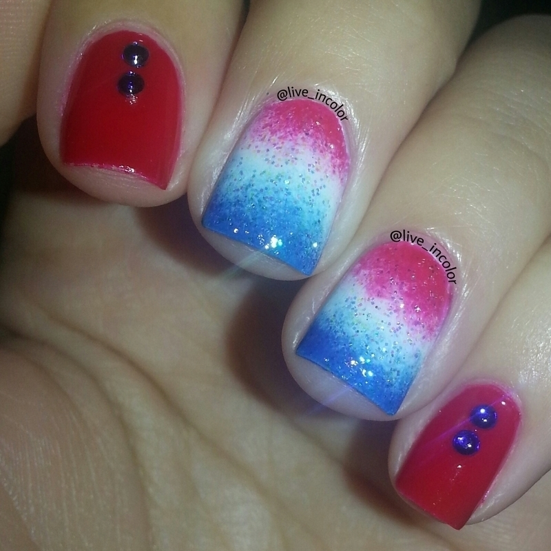 Memorial day!  nail art by kEElyN mARiN