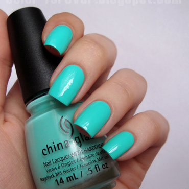 China Glaze Too Yacht to Handle Swatch by ania