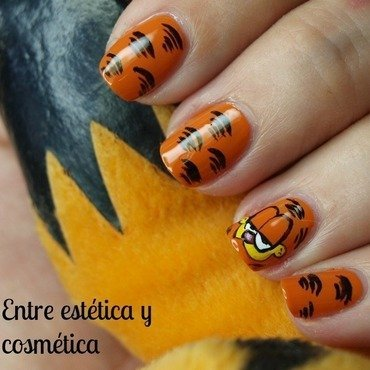 Garfield nails nail art by MartaRuso