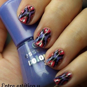 Estampado ikat nails 2 thumb370f