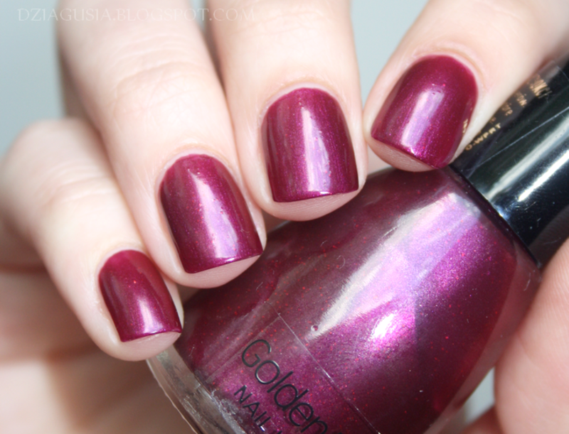 Golden Rose # 312 Swatch by Magda