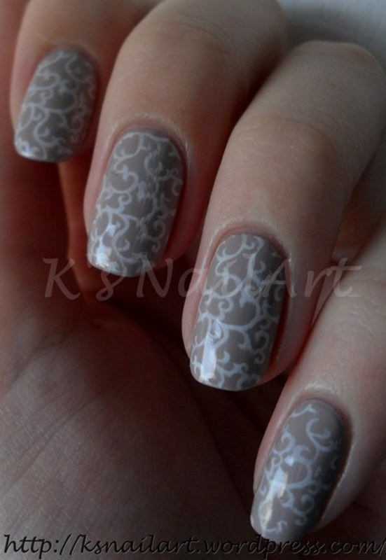 Work Appropriate Nails nail art by Kairi E \