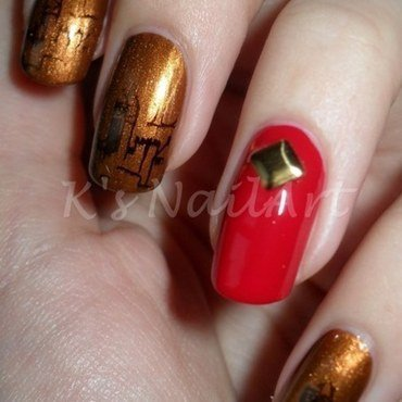 "London nails nail art by Kairi E ""K's NailArt"""
