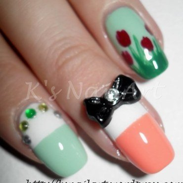 "Easter/Spring Themed Nails nail art by Kairi E ""K's NailArt"""