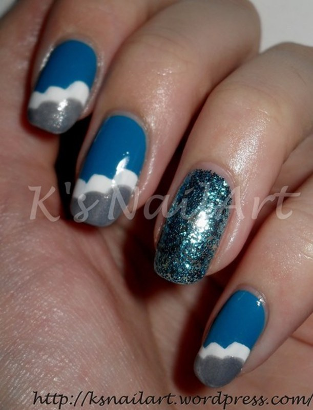 "Cloud Nails nail art by Kairi E ""K's NailArt"""