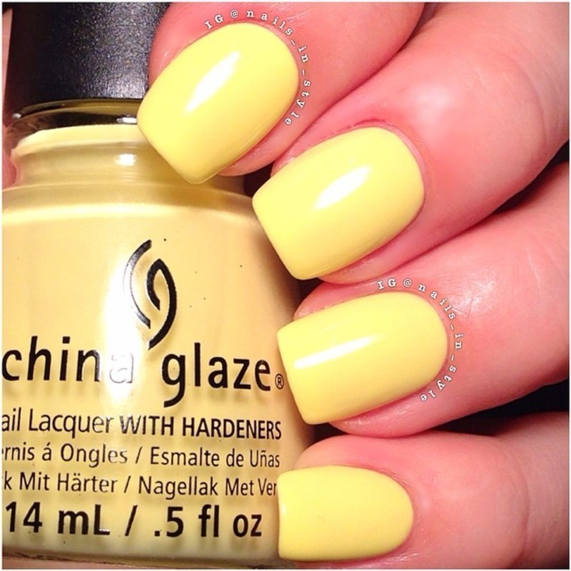 China Glaze Sun Upon My Skin Swatch by Nails_In_Style