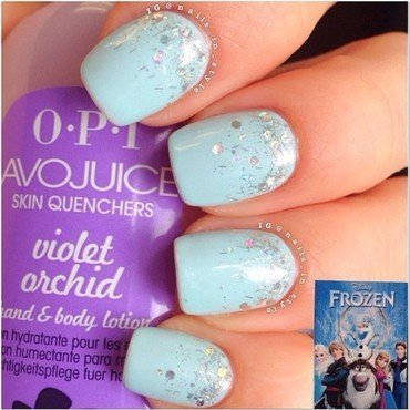 Let it Go! nail art by Nails_In_Style