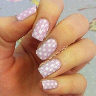Lilac polka dots thumb370f