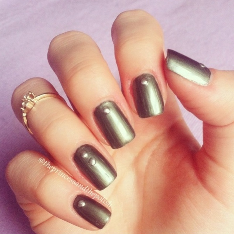 Over the Edge nail art by Alexandra