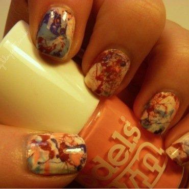 Polish Party Splatter Nails nail art by Kimberley