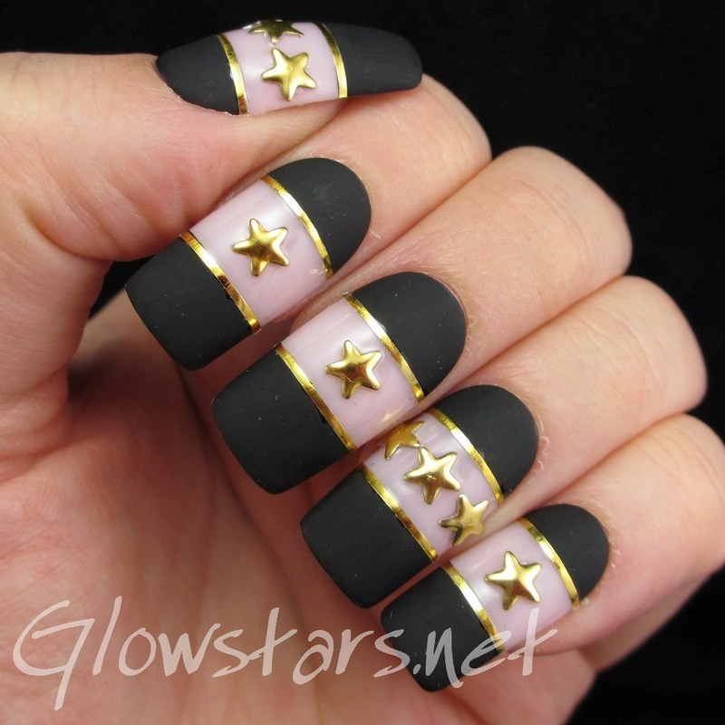 I'm complicated, you won't get me out of trouble nail art by Vic 'Glowstars' Pires
