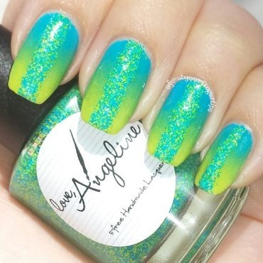 Hello Summer nail art by funatyourfingertips