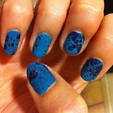 We all go SPLAT! nail art by dazyndara
