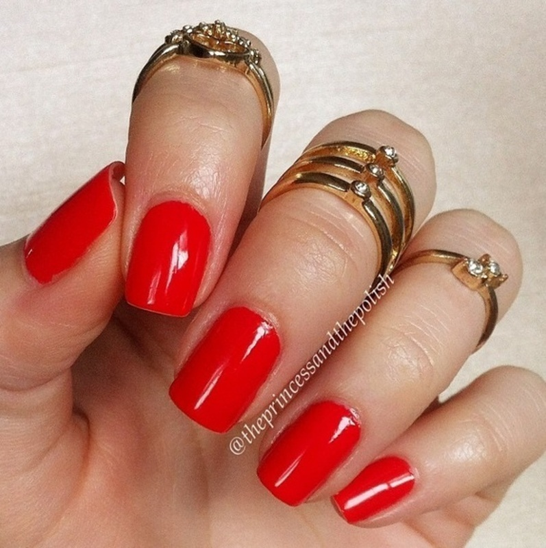 Maybelline Urban Coral Swatch by Alexandra