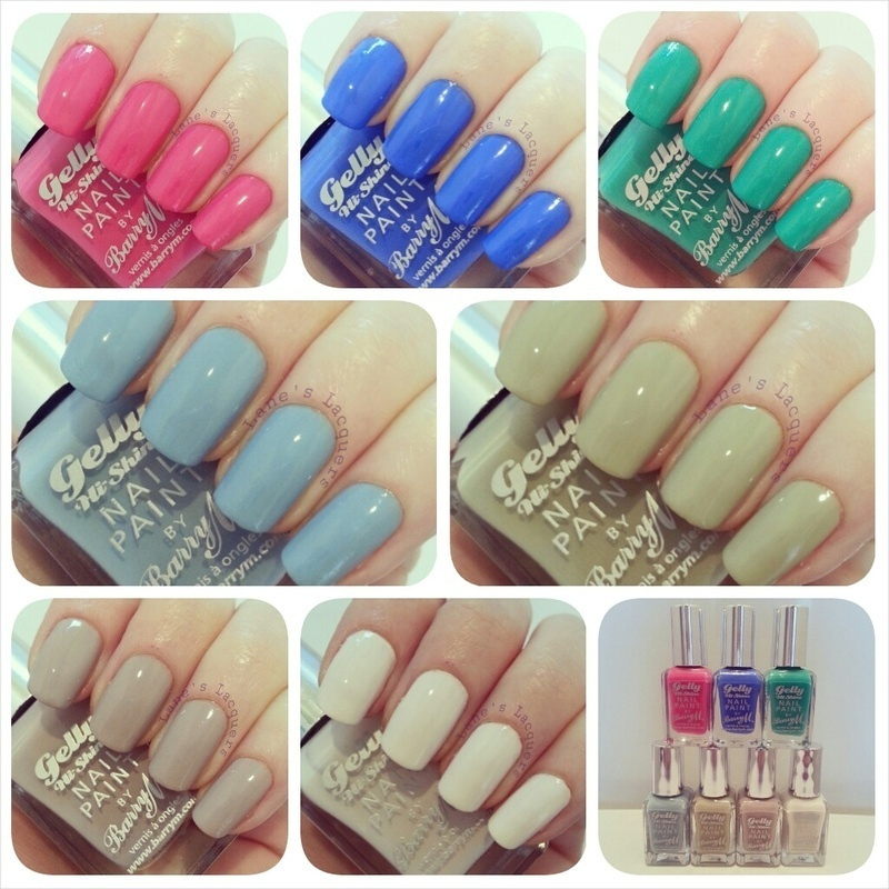Barry M Coconut, Barry M Elderberry, Barry M Pink Punch, Barry M ...