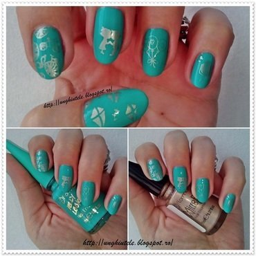 International Children's Day nail art by Oana  Alexandru