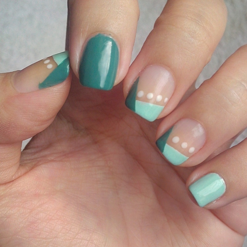 Elegance nail art by Judy Ann Chio