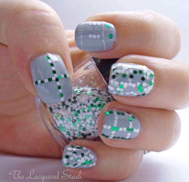 Glitter Madness nail art by Emma N.