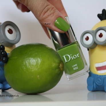 Dior Lime 602 Swatch by Karo