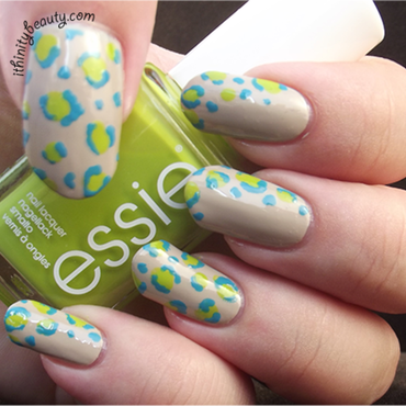 Vibrant Leopard nail art by Ithfifi Williams