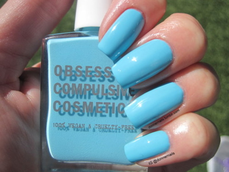 obsessive compulsive cosmetics Pool Boy Swatch by Donner
