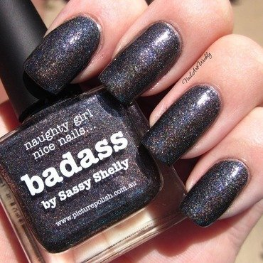 piCture pOlish Badass Swatch by Karolyn