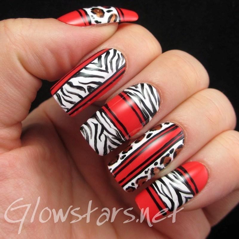 You said I've got a way with words, I'm not so sure nail art by Vic 'Glowstars' Pires
