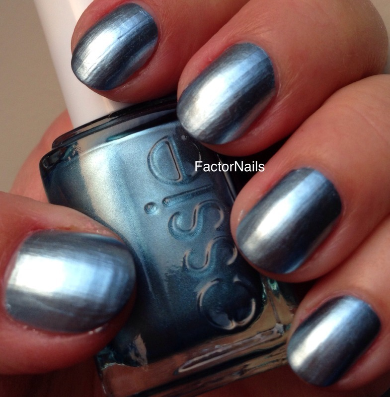 Essie blue rhapsody Swatch by Factornails