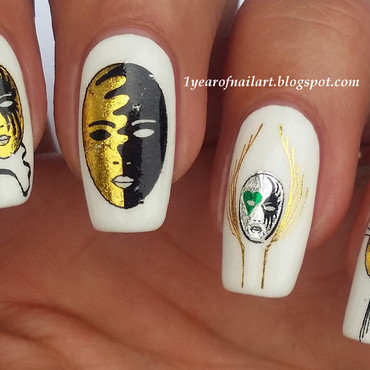 Masquerade nails thumb370f