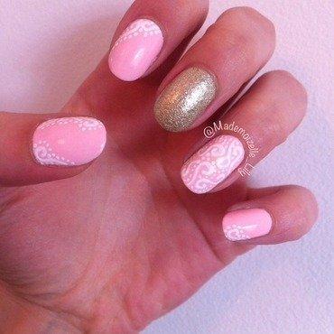Sweet nailart nail art by Emilie