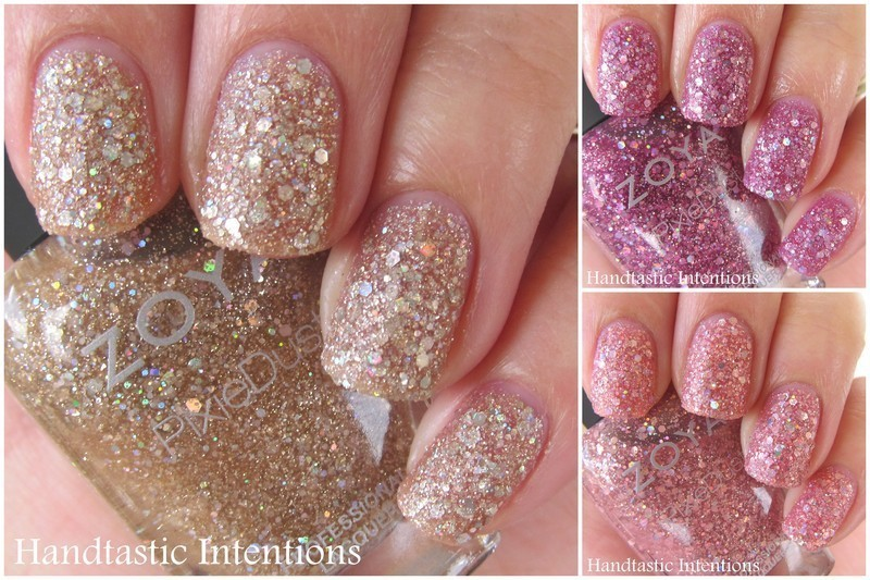 Zoya Magical Pixie Collection nail art by Andrea