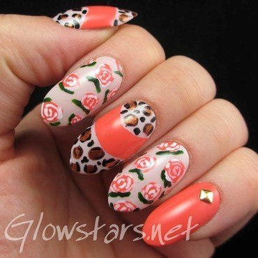 I wanna break this spell that you've created nail art by Vic 'Glowstars' Pires