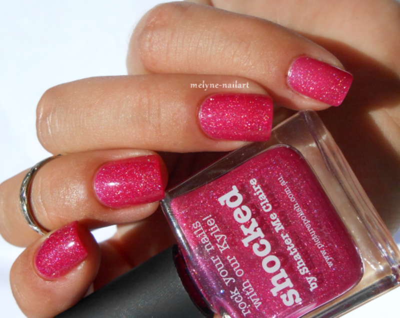 piCture pOlish Shocked Swatch by melyne nailart