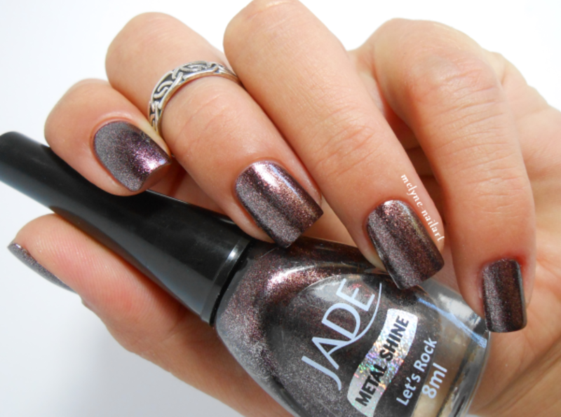 Jade Let's Rock Swatch by melyne nailart