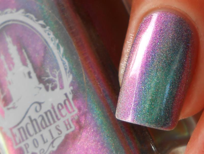 enchanted polish Kids Swatch by melyne nailart