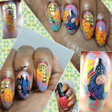 Cute Ass nail art by Nails_Divine