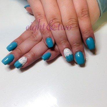 Cupcake Nails nail art by Ms Garcia