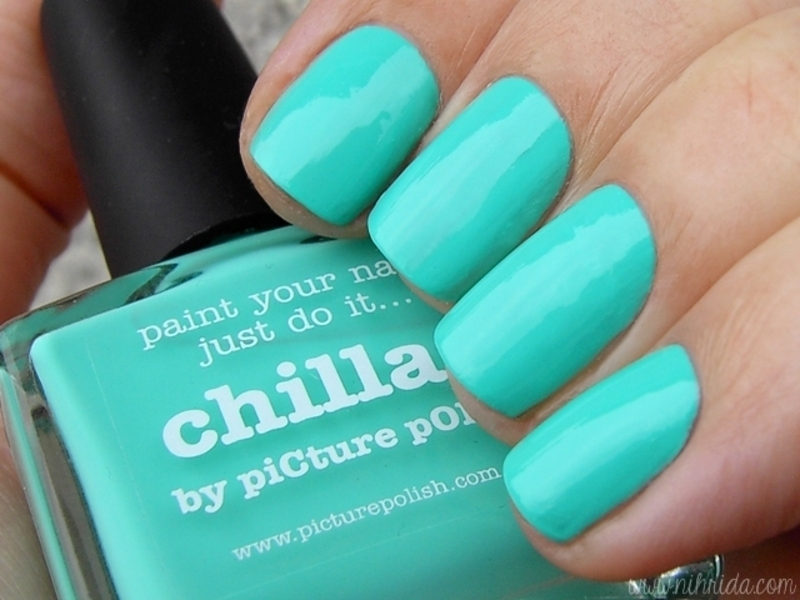 piCture pOlish chillax Swatch by nihrida