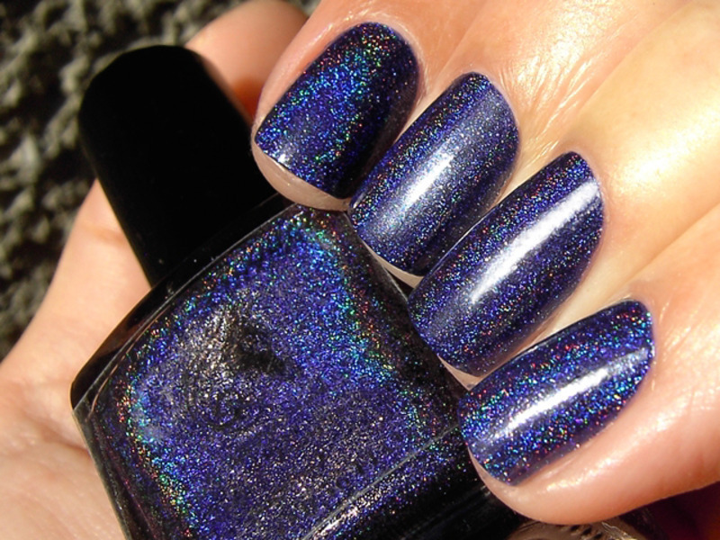 F.U.N. Lacquer Starry Night of the Summer Swatch by nihrida