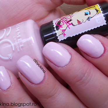 Rimmel 203 Lose Your Lingerie Swatch by Aby