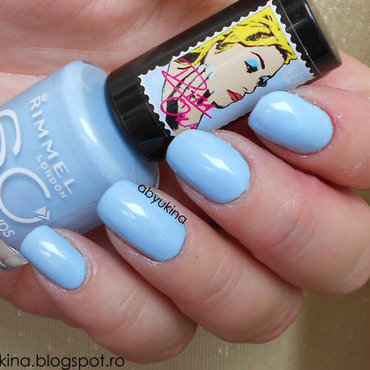 Rimmel 853 Pillow Talk Swatch by Aby